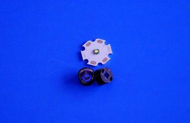 La plus petite 30/45/60/90 lentille optique de la surface de perle de degré 3535 LED 1w 3w